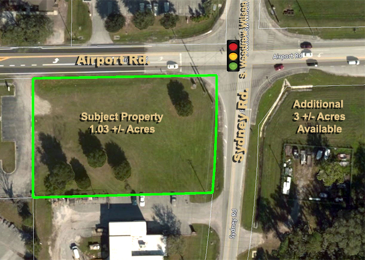 Airport Road 1.03 Acres in Plant City, FL