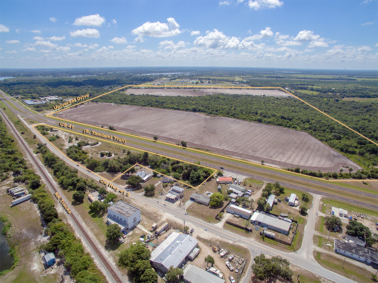US 41 Investment 190 Acres in Ruskin, FL