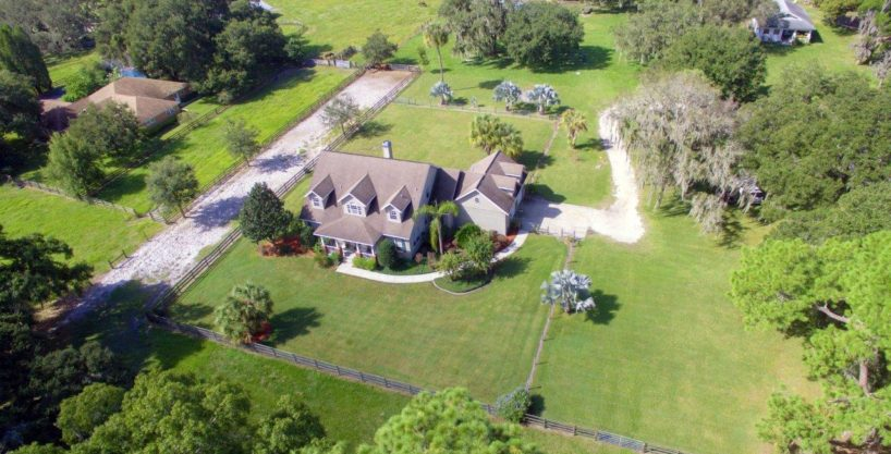 Browning Road Equestrian Estate 7 Acres in Lithia, FL
