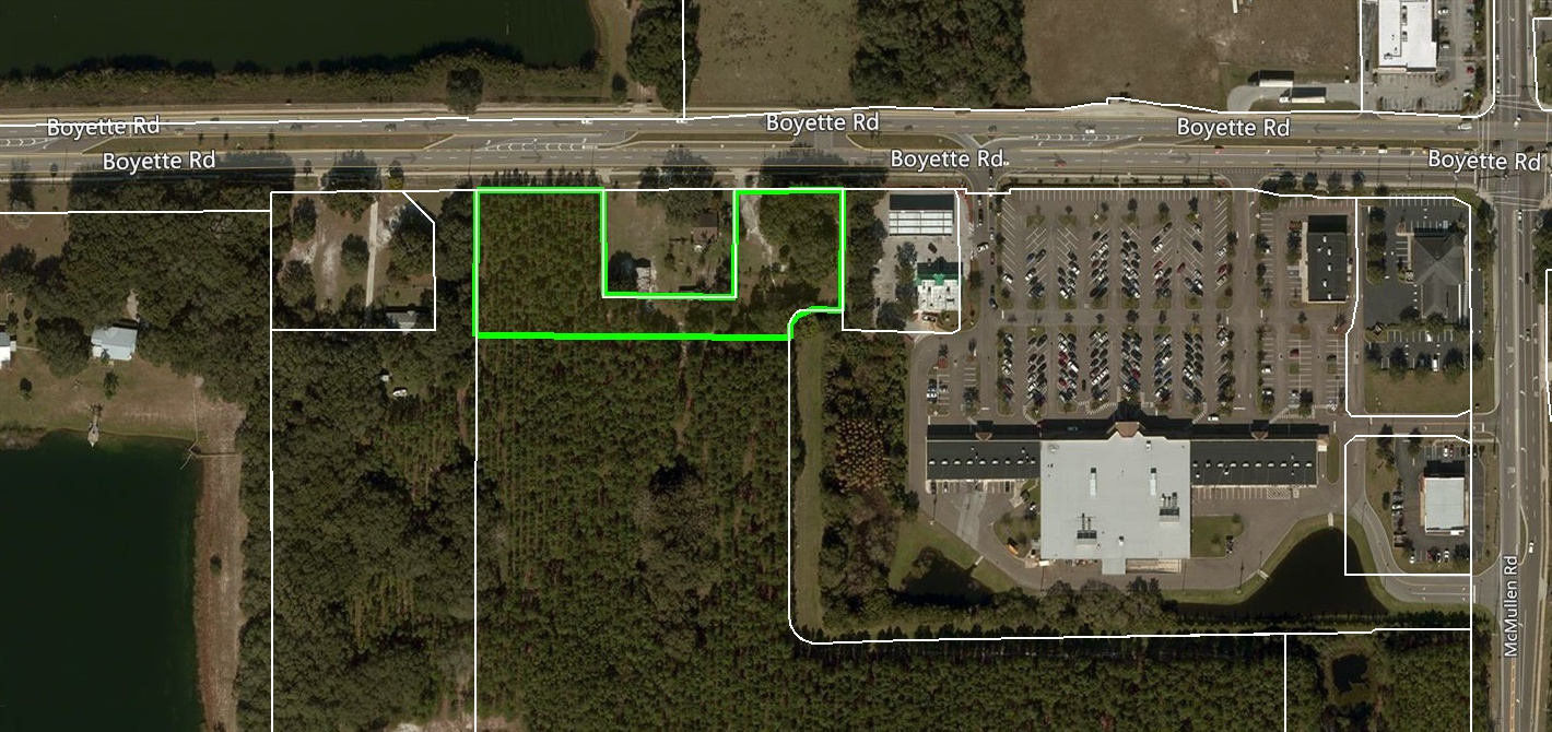 Boyette Road 2.2 Acres in Riverview, FL
