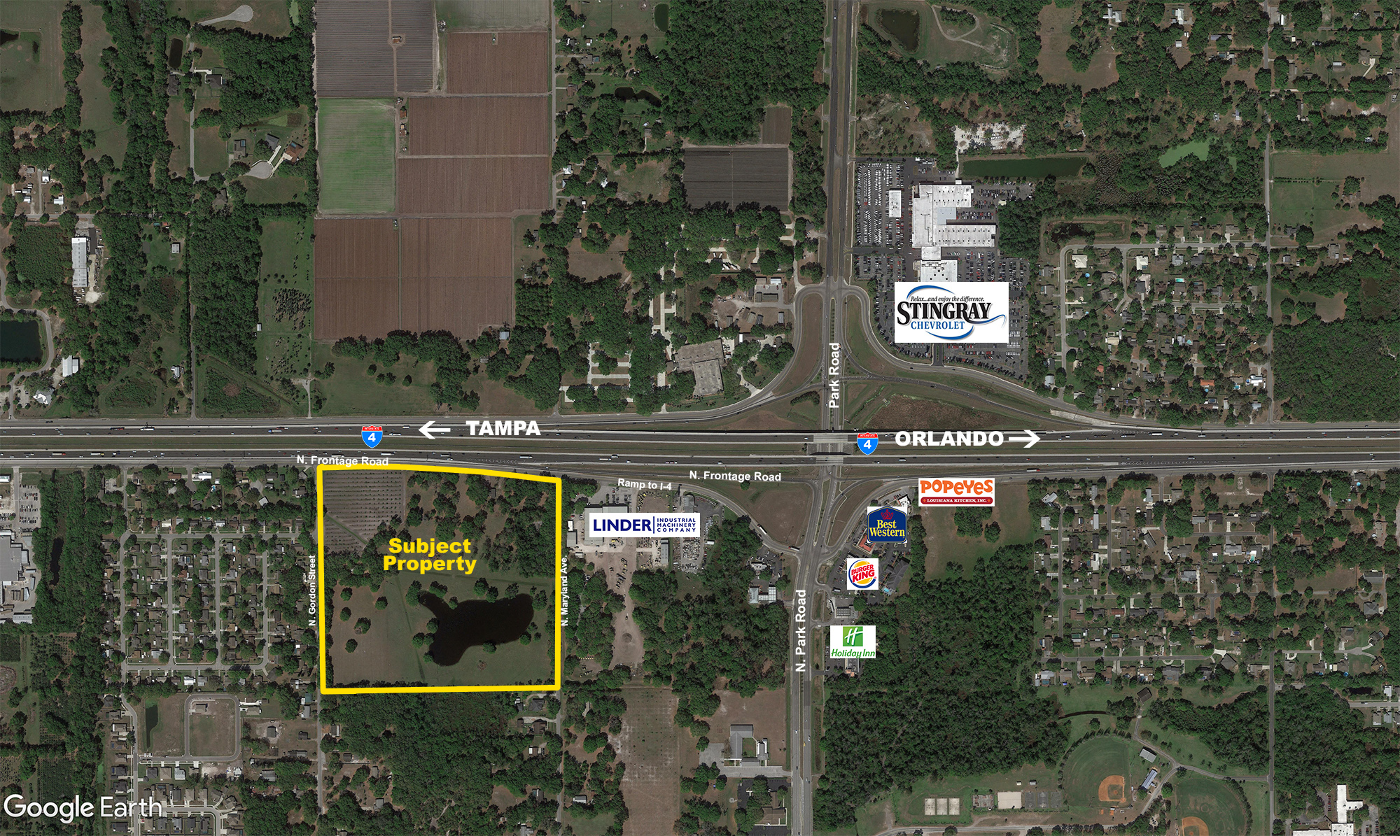 I-4 Development 36 Acres in Plant City, FL