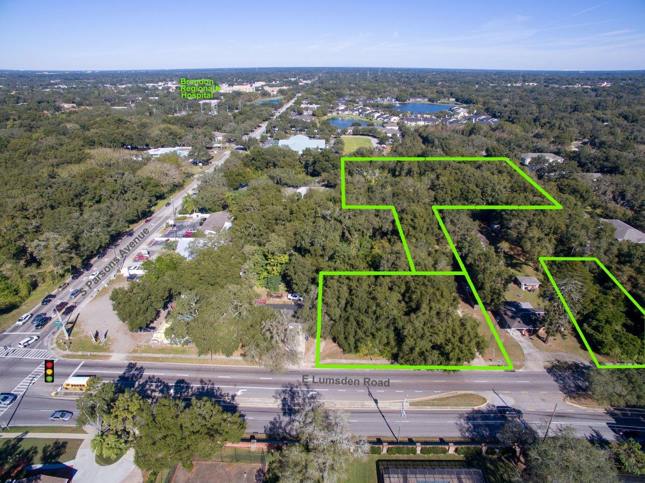 Lumdsen Road Commercial 3.27 +/- AC in Brandon, FL