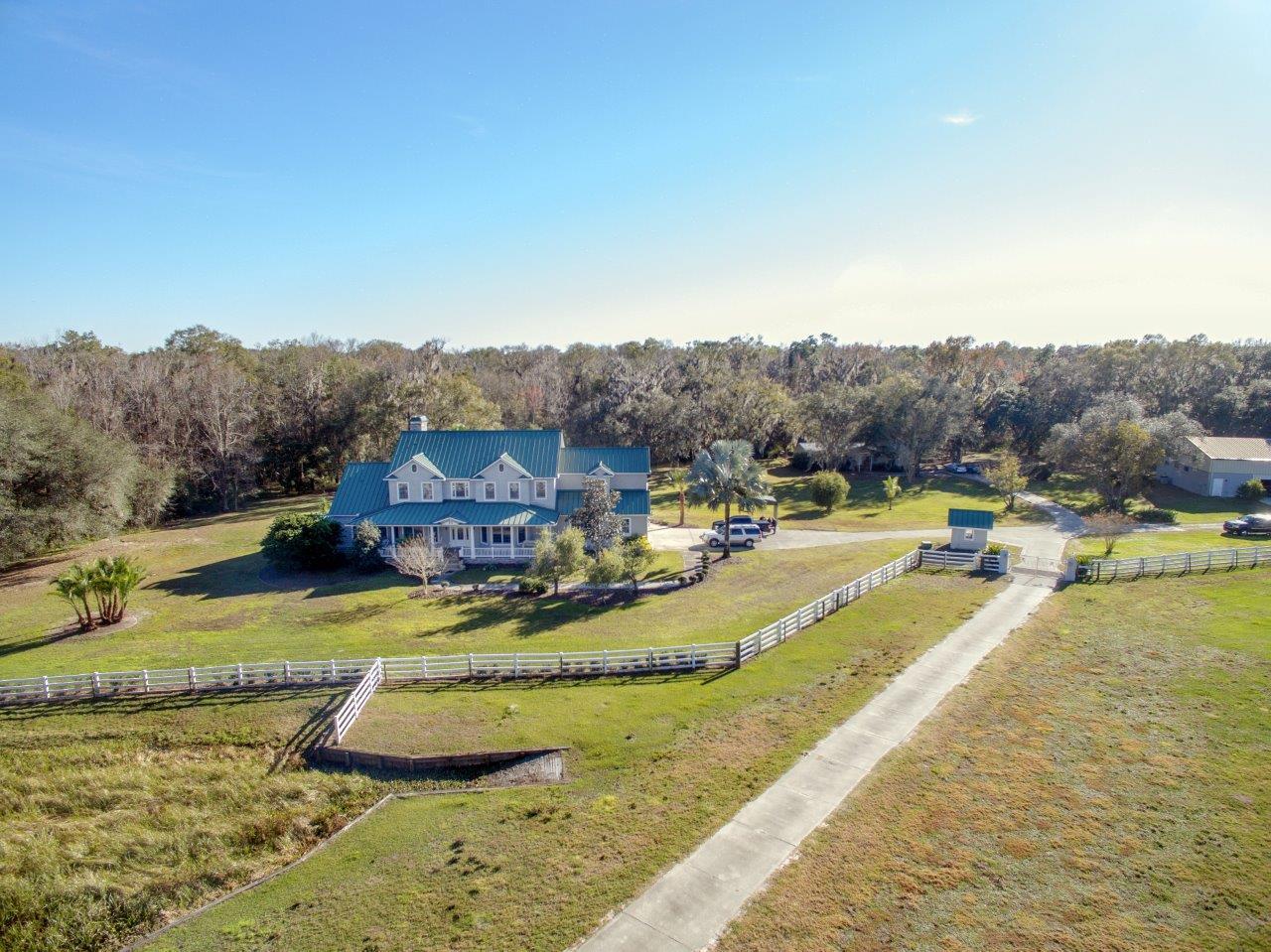 Luxury Country Estate Custom Farmhouse on 28 +/- Acres CR 672, Lithia, Florida