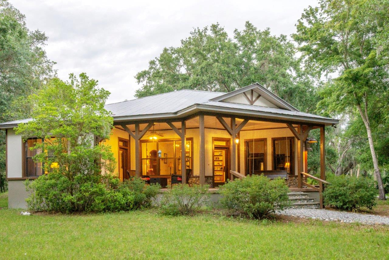 Magnificent Custom Craftsman-Style Home on 7.5 +/- Acres in Plant City, FL