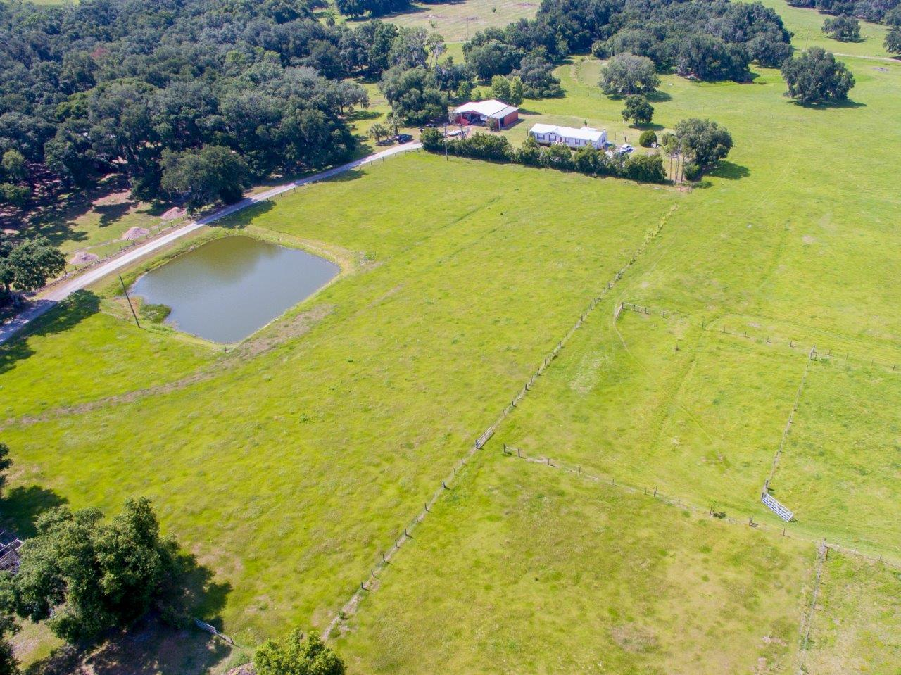 Lanier Road 8 Acres with 1,732 SF Home and Additional Homesite in Plant City, FL